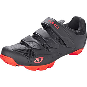Giro Carbide RII Shoes Herre black/red